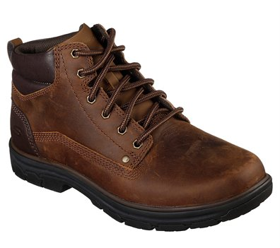 Brown Skechers Relaxed Fit: Segment - Garnet