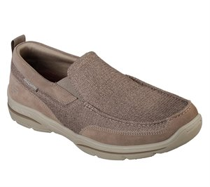 Natural Skechers Relaxed Fit: Harper - Mezo
