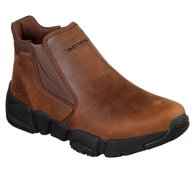 Brown Skechers Relaxed Fit: Rolden - Warton