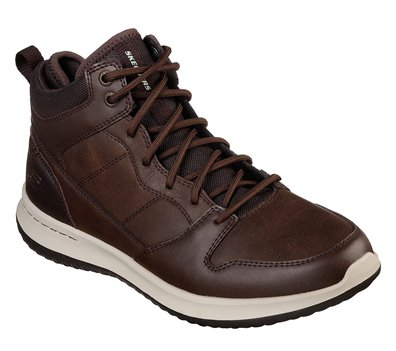 Dark Brown Skechers Delson - Ralcon