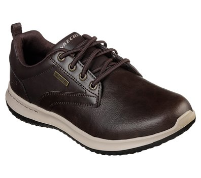Brown Skechers Delson - Antigo