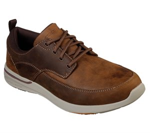 Brown Skechers Relaxed Fit: Elent - Leven