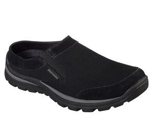 Black Skechers Relaxed Fit: Superior - Rolsen