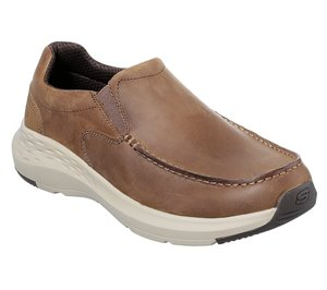 Brown Skechers Relaxed Fit: Parson - Magro