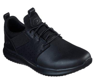 Black Skechers Delson - Axton - FINAL SALE