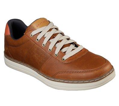 si Remo Apelar a ser atractivo  Skechers Heston - Avano in Brown - Skechers Mens on Shoeline.com