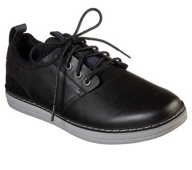 Black Skechers Heston - Rogic