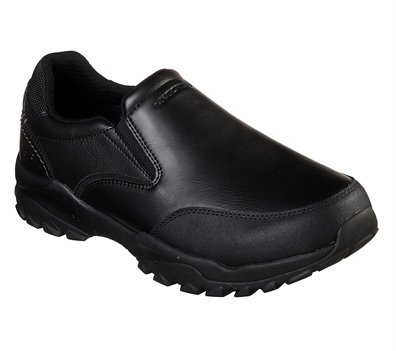 Black Skechers Relaxed Fit: Henrick - Salon
