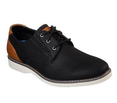 Black Brown Skechers Parton - Wilcon