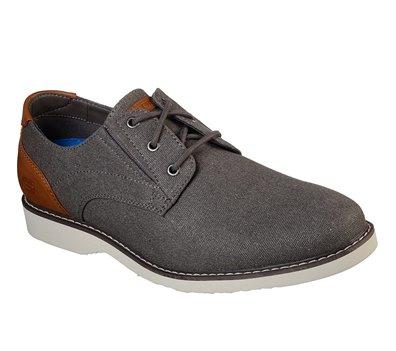 Gray Brown Skechers Parton - Wilcon