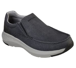 Black Skechers Relaxed Fit: Parson - Trest