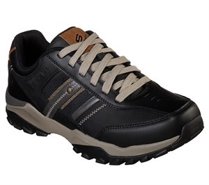 Black Skechers Relaxed Fit: Henrick - Delwood
