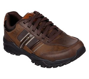 Brown Skechers Relaxed Fit: Henrick - Delwood