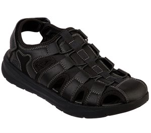 Black Skechers Relaxed Fit: Relone - Henton - FINAL SALE