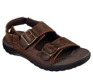 Brown Skechers Relaxed Fit: Reggae - Strand