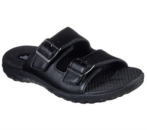 Black Skechers Relaxed Fit: Reggae - Sander - FINAL SALE