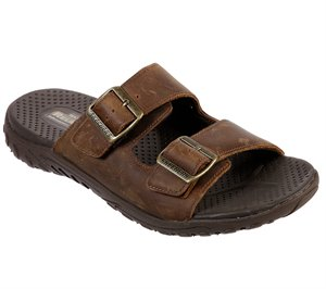 Brown Skechers Relaxed Fit: Reggae - Sander - FINAL SALE
