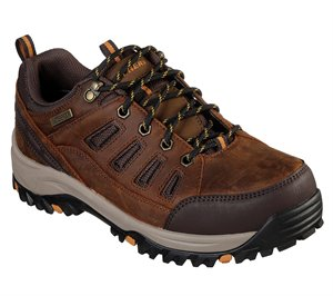 Dark Brown Skechers Relaxed Fit: Relment - Semego
