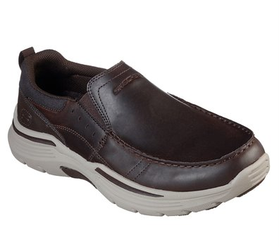Brown Skechers Relaxed Fit: Expended - Seveno - FINAL SALE