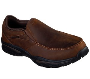 Brown  Skechers Relaxed Fit: Creston - Artie