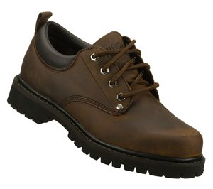 Dark Brown Wide Skechers Tom Cats