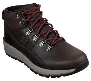 Brown Red Skechers Relaxed Fit: Volero - Merix