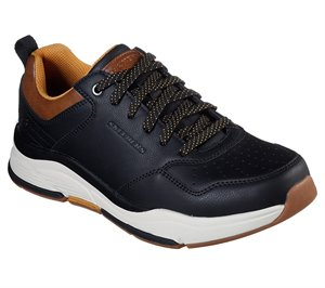 Black Skechers Relaxed Fit: Benago - Treno