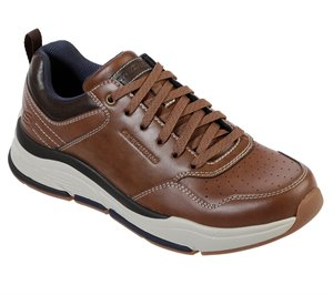 Brown Skechers Relaxed Fit: Benago - Treno