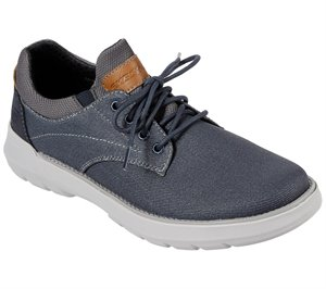 Navy Skechers Relaxed Fit: Doveno - Reson
