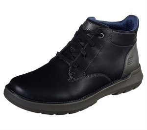 Black Skechers Relaxed Fit: Doveno - Molens