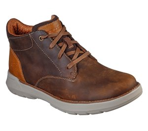 Brown Skechers Relaxed Fit: Doveno - Molens