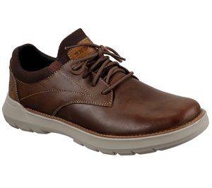 Brown Skechers Relaxed Fit: Doveno - Vander