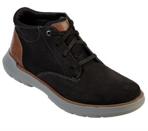 Black Skechers Relaxed Fit: Doveno - Lenson