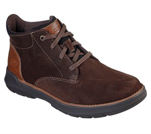 Brown Skechers Relaxed Fit: Doveno - Lenson