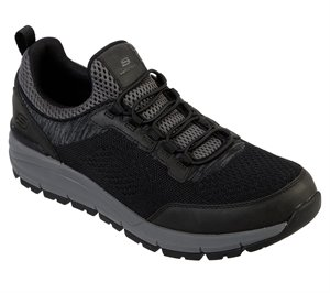 Gray Black Skechers Relaxed Fit: Volero - Sermon