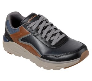 Brown Black Skechers Relaxed Fit: Verrado - Crafton