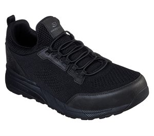Black Skechers Relaxed Fit: Norgen - Vore