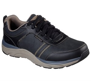 Black Skechers Relaxed Fit: Sentinal - Lunder