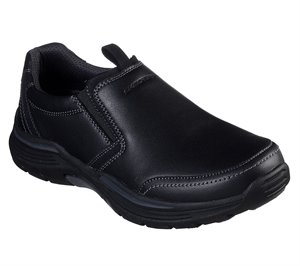 Black Skechers Relaxed Fit: Expended - Morgo