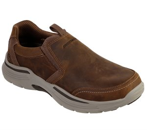 Brown Skechers Relaxed Fit: Expended - Morgo