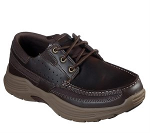 Brown Skechers Relaxed Fit: Expended - Menson
