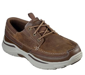 Brown Skechers Relaxed Fit: Expended - Menson - FINAL SALE