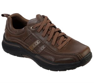 Brown Skechers Relaxed Fit: Expended - Manden - FINAL SALE