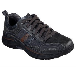 Gray Skechers Relaxed Fit: Expended - Manden - FINAL SALE