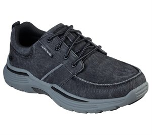 Black Skechers Relaxed Fit: Expended - Bermo