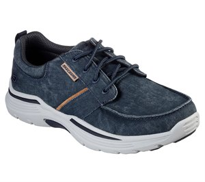 Blue Skechers Relaxed Fit: Expended - Bermo - FINAL SALE