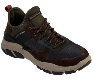 Black Brown Skechers Relaxed Fit: Braso - Olavo