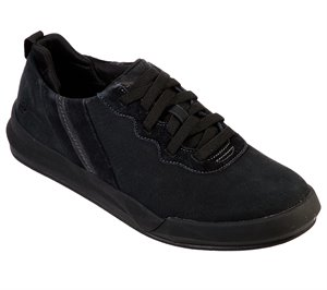 Black Skechers Relaxed Fit: Norsen - Valo - FINAL SALE