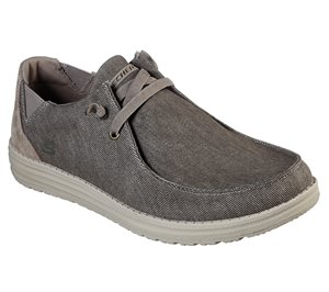 Dark Natural Skechers Melson - Raymon