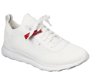 White Skechers Bulger - Nickson
